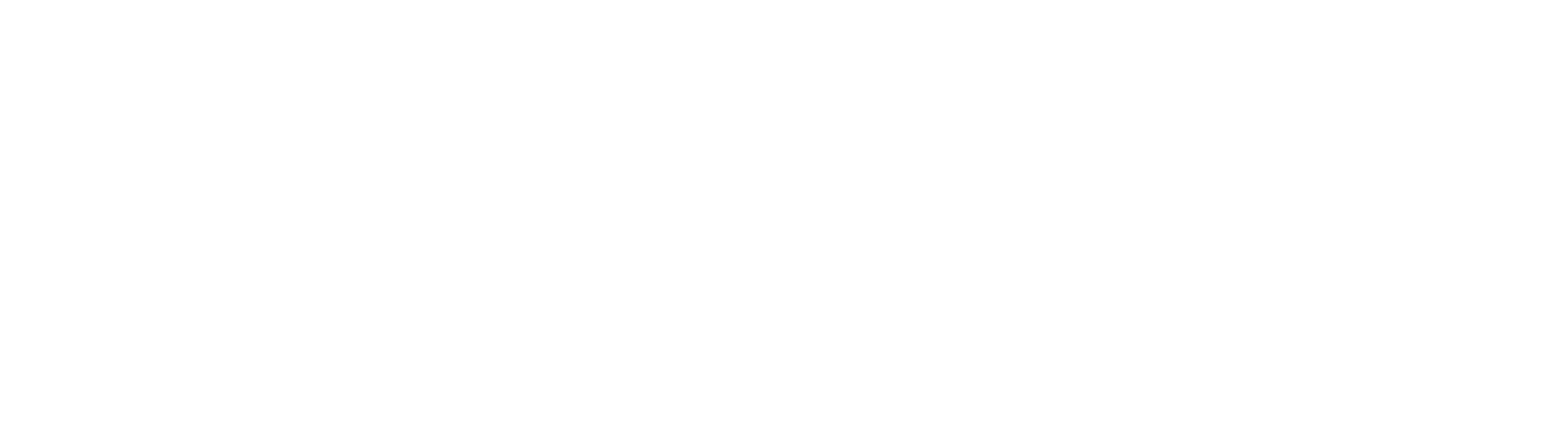 logo for The Bradford apartments in Belmont MA reversed in white