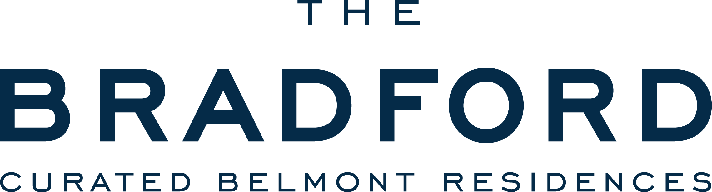 logo for The Bradford apartments in Belmont MA